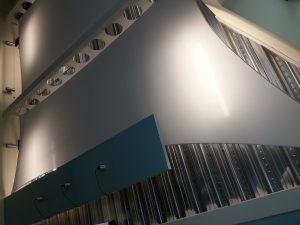 Sculptural interior sails