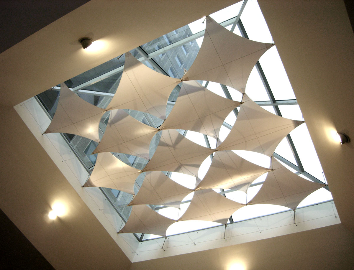 Interior Sail Shades Atrium-fabric-sail-shades