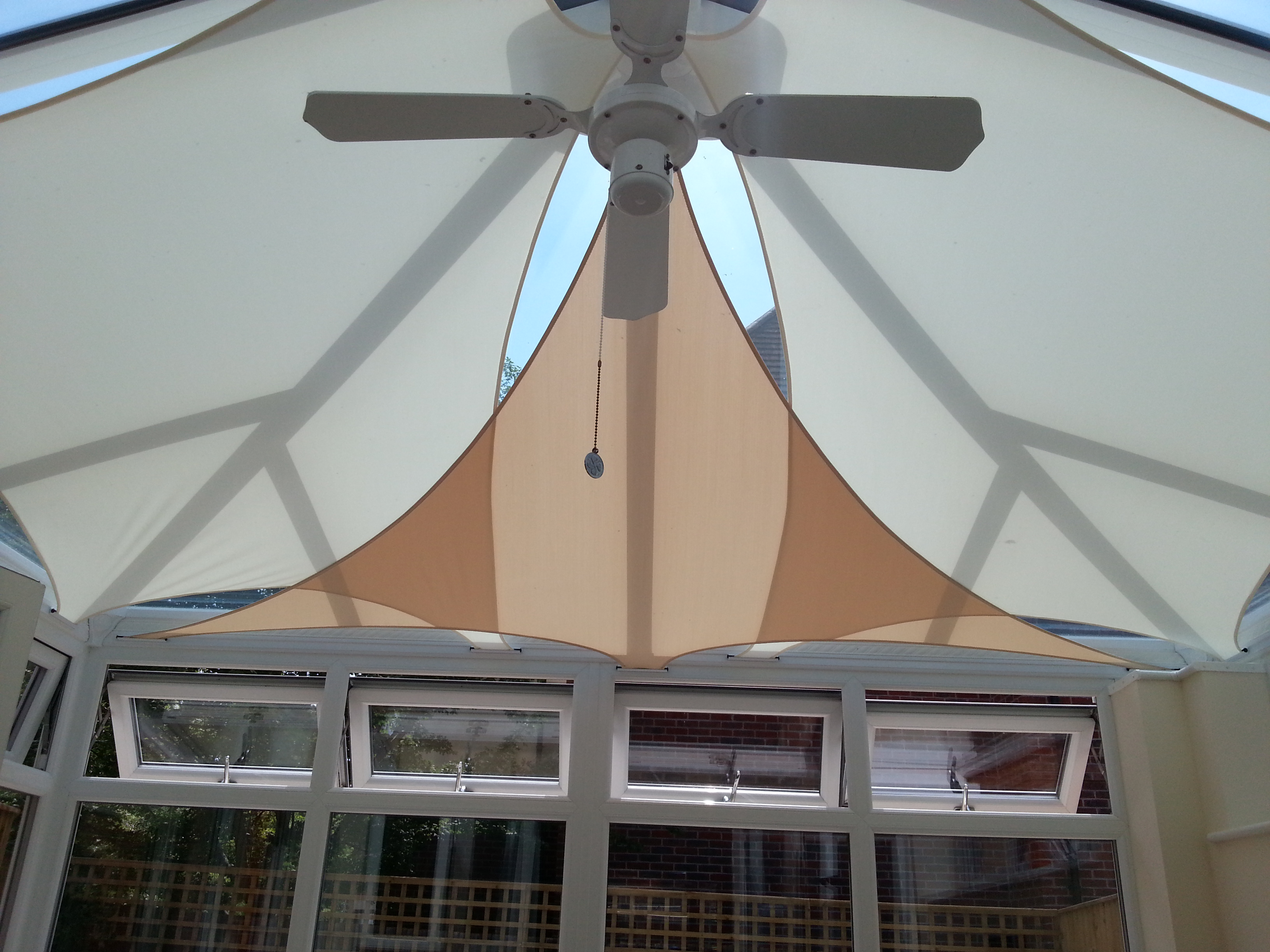 Conservatory Sails Shadesailblinds